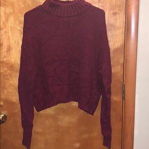 Maroon AE sweater